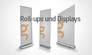 Roll-Ups und Displays