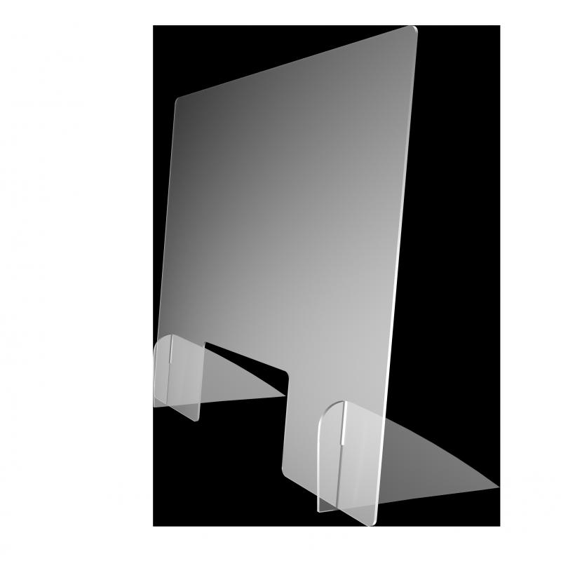 Spuckschutz Breit (Polystyrol 3mm)