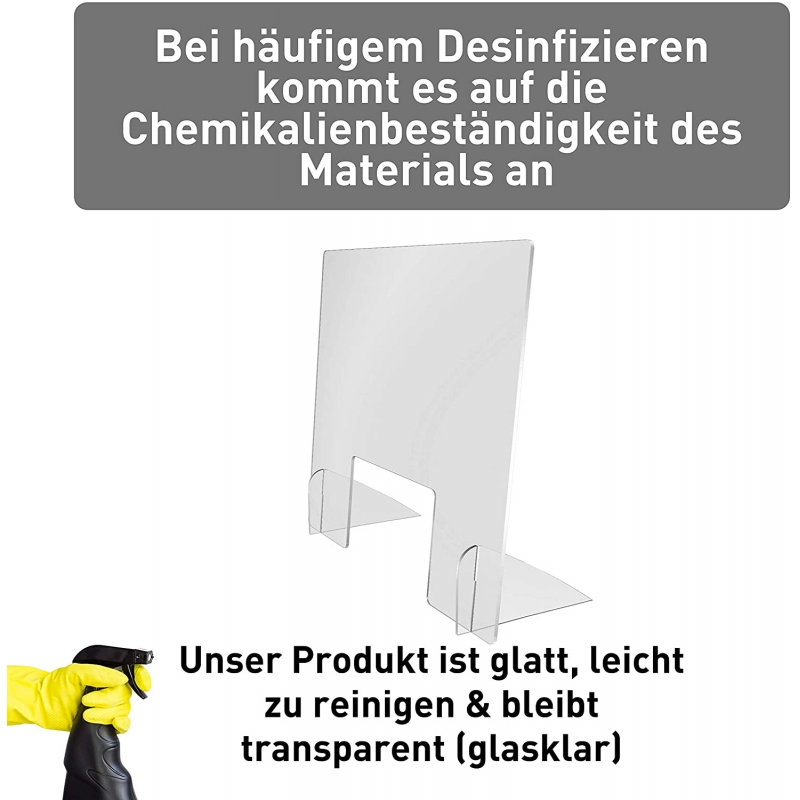 Spuckschutz Eco Hoch (PETG 3mm)
