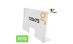 Spuckschutz Groß (PETG 5mm)
