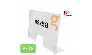 Spuckschutz Breit (PETG 5mm)