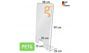 Spuckschutz Hoch (PETG 5mm)