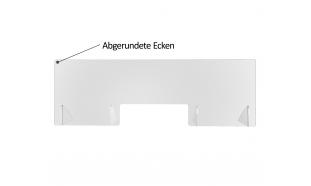 Spuckschutz Extrabreit (PETG 3mm)